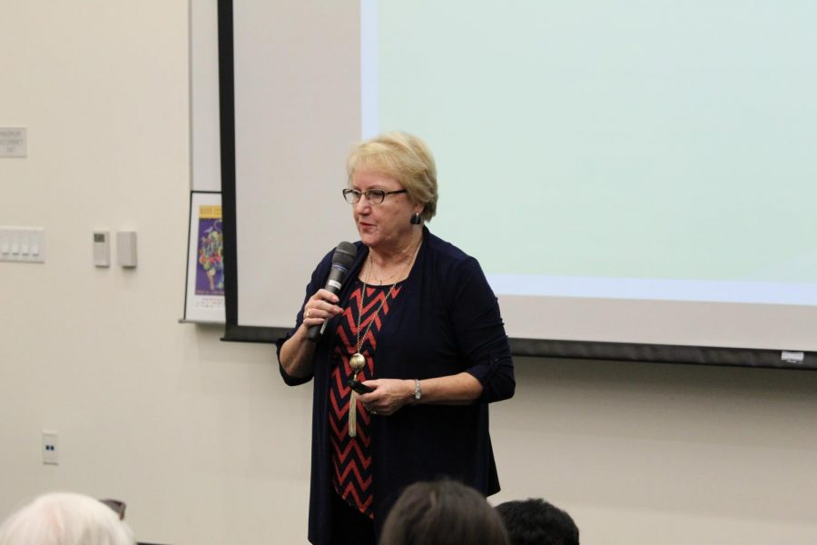 SDCCD Executive Vice Chancellor Bonnie Dowd will take a closer look at the new community college funding formula. By David Ahumada