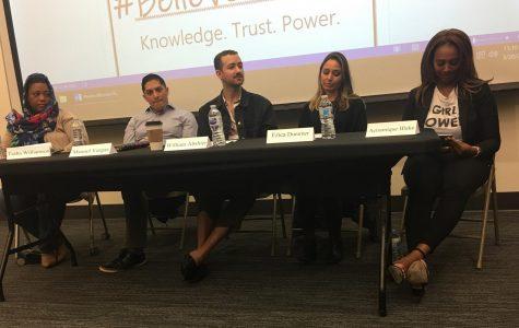 Panel at #BelieveWomen event