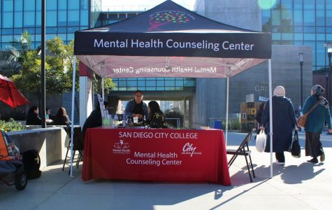Mental Health Services tent