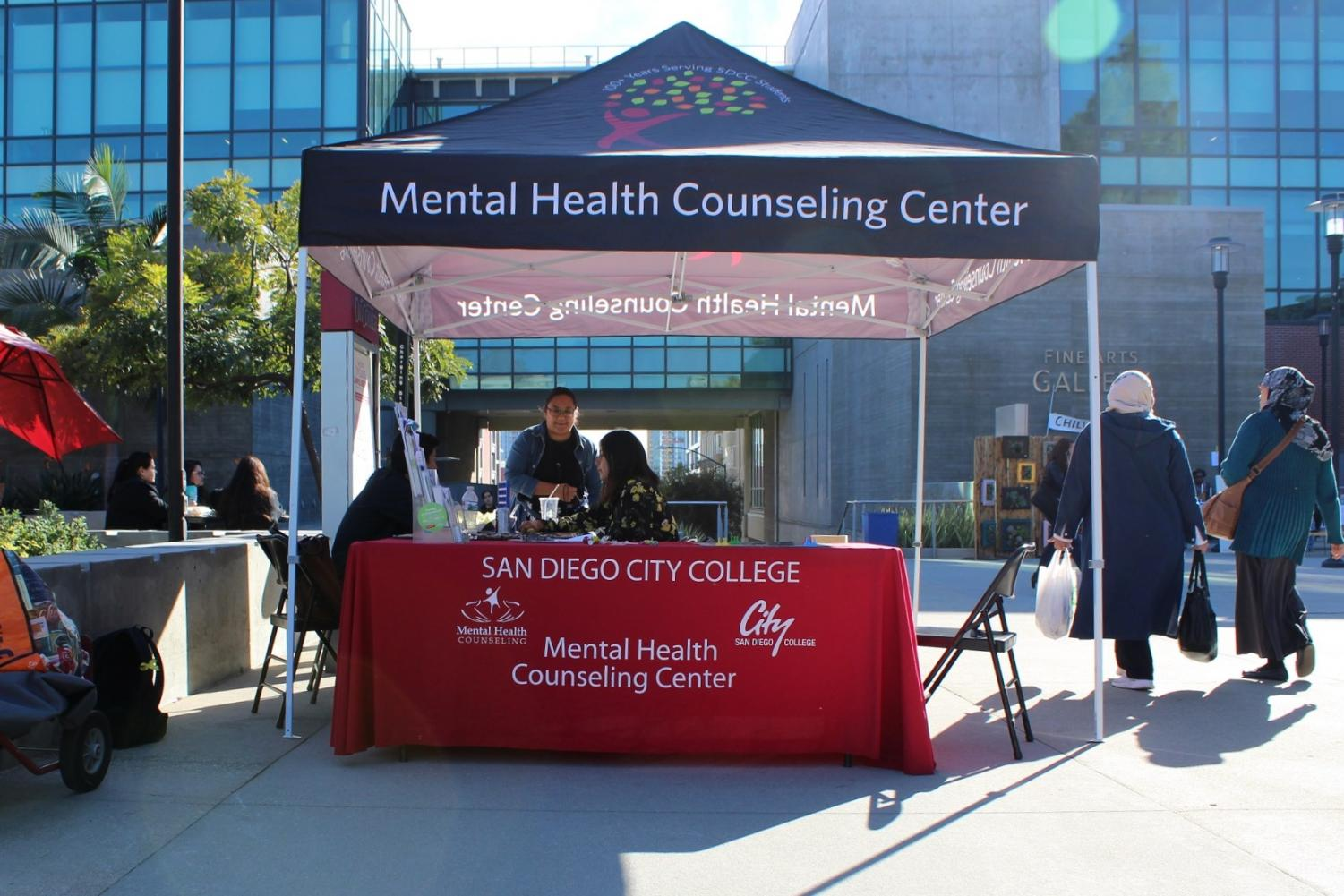 San Diego City College's Mental Health department has various support groups for students to find community. By Jonny Rico/City TImes.