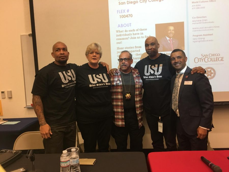 Panel of formerly incarcerated individuals spoke at City College. By Uyen Pham/City Times