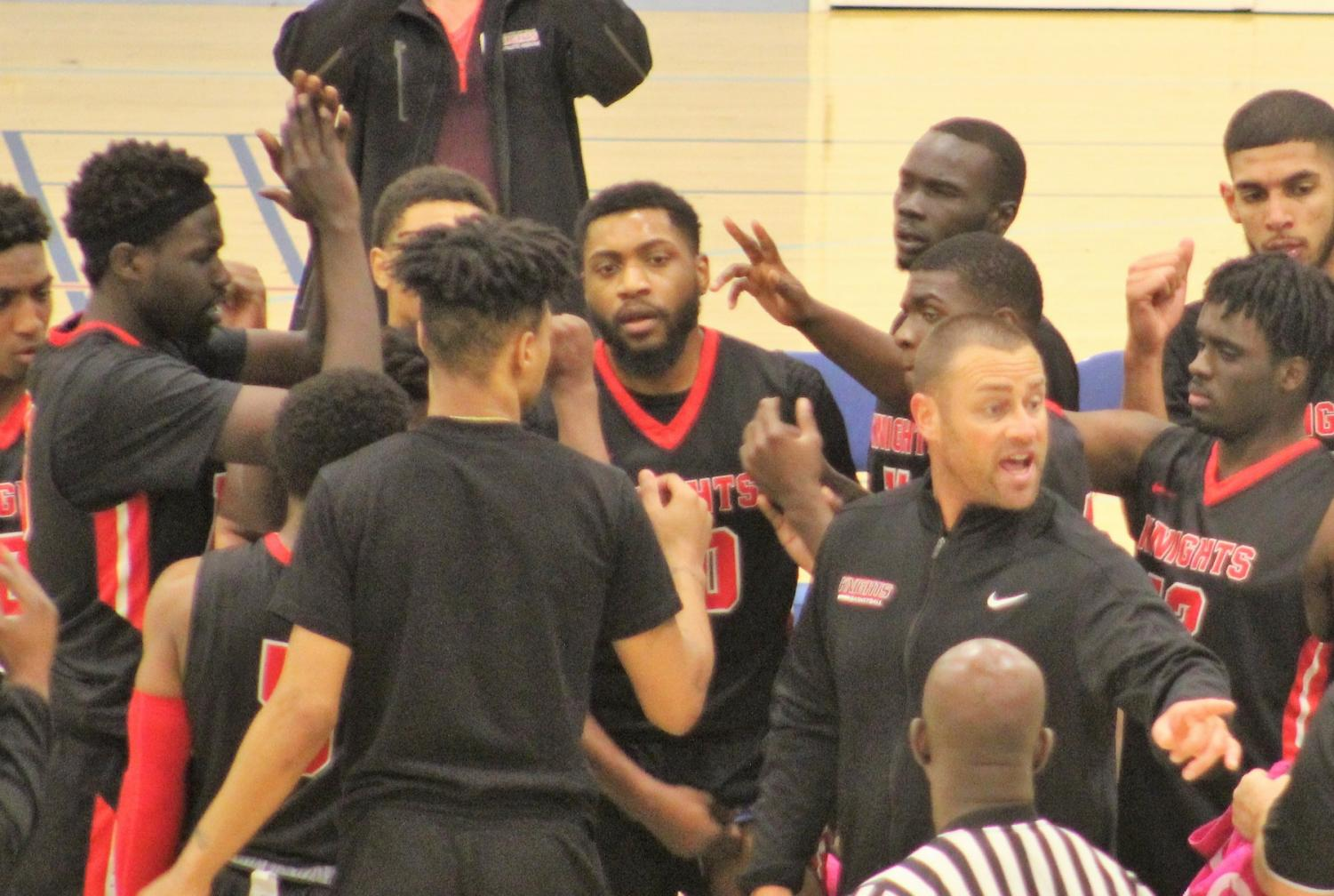 Coach Mitch Charlens and the City College Knights conclude another successful basketball season. By Jonny Rico/City Times