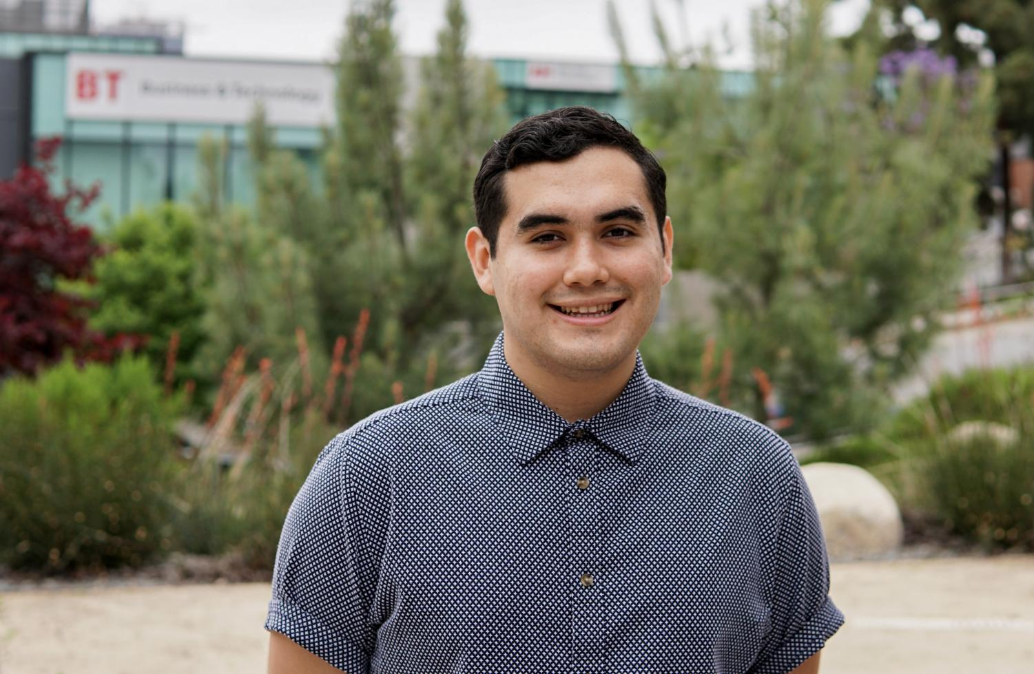 Andrew Leal has served as a senator, vice president and president of ASG. By David Ahumada
