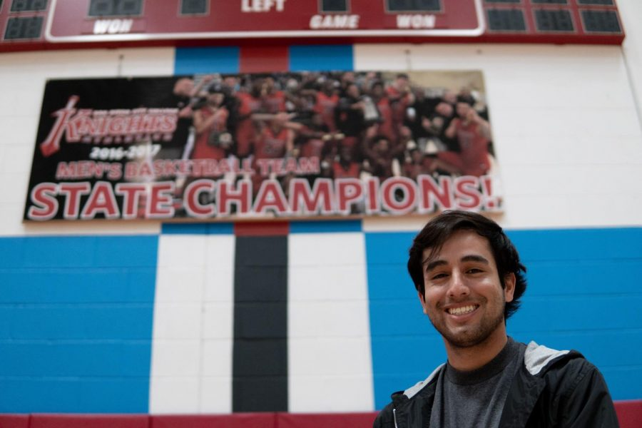 The men's basketball team because a family on the road to a state championship. By David Ahumada/City Times