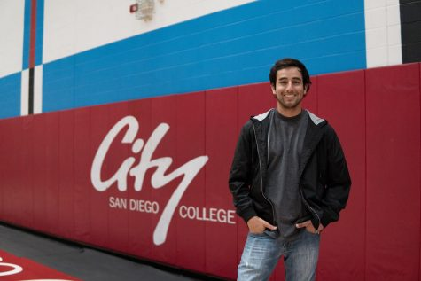 San Diego City College graduate David Pradel captured the ups and downs of the men