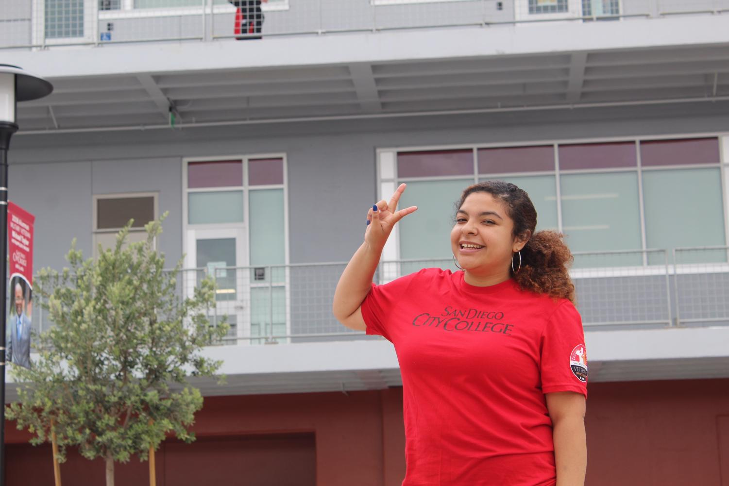 Mia Zedukes will graduate from City College having been part of the SDCCD Honor's Program. By Jonny Rico/City Times