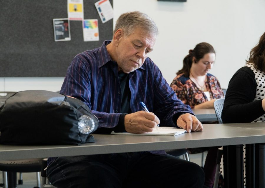 Gary Tallaksen plans on taking more general classes to complete his associate's degree. By David Ahumada
