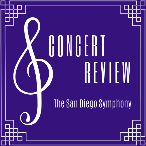 A graphic reading: Concert Review San Diego Symphony