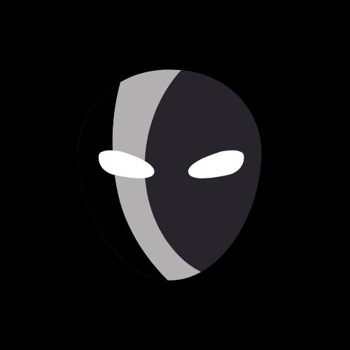 A graphic of a burglar