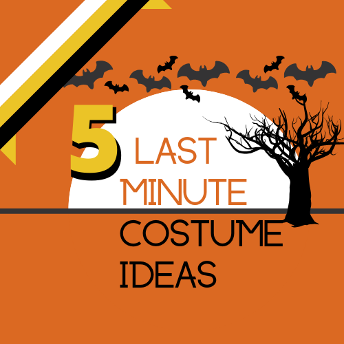 A Halloween themed graphic with the text