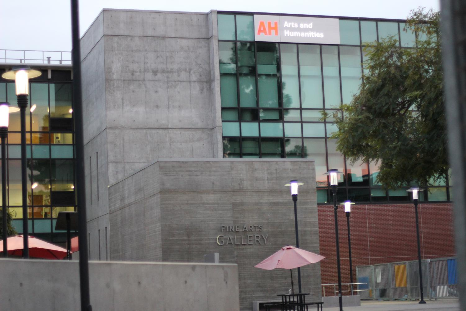 The San Diego City College Arts and Humanities building.  Photo by Sonny Garibay
