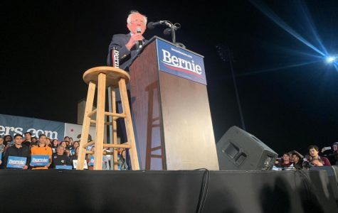 Bernie Sanders holds immigration rally