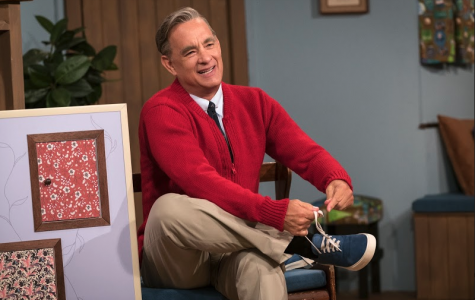 Tom Hanks as Mr. Rogers.