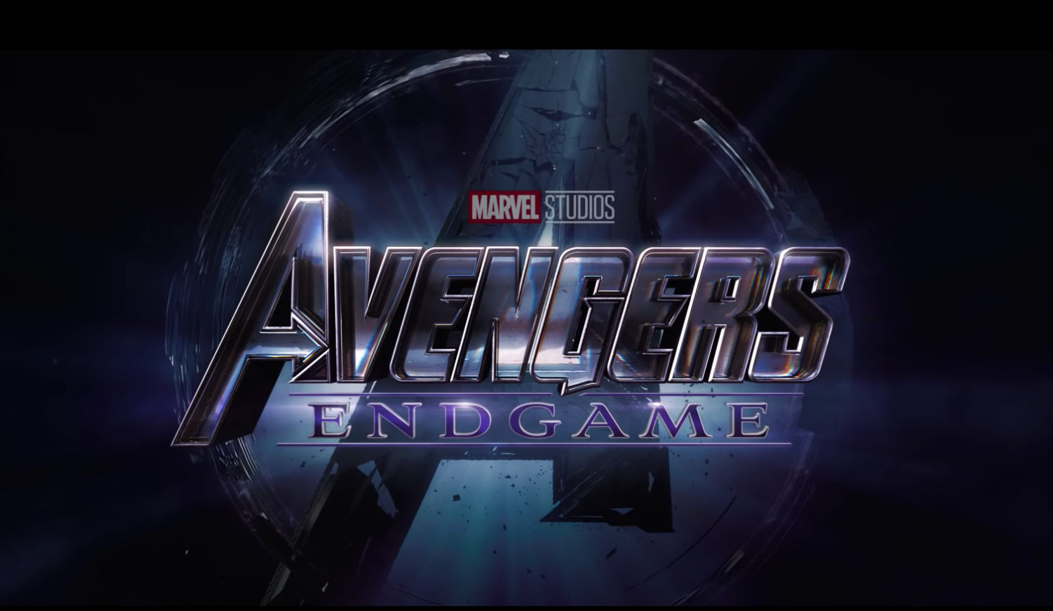 Avengers: Endgame is the anticipated finale of Marvel's Endgame, it premiered on April 22, 2019. Logo presented on movie trailer.