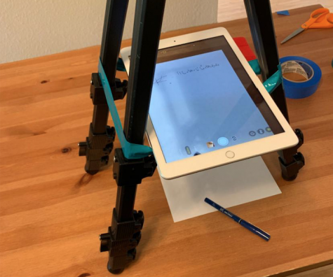 Homemade document camera