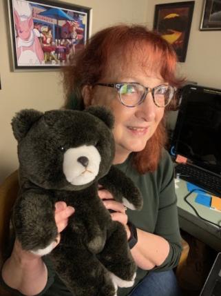 Comfort Bear and Lisa Chaddock