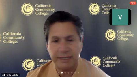 Chancellor of California Community Colleges Eloy Ortiz Oakley