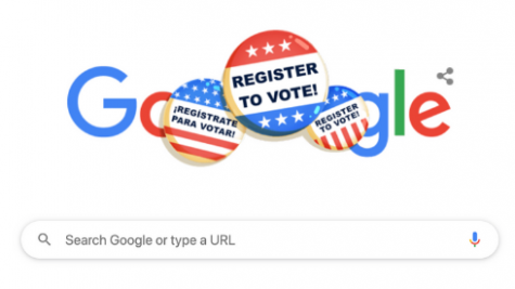 Google front page on Sept. 22