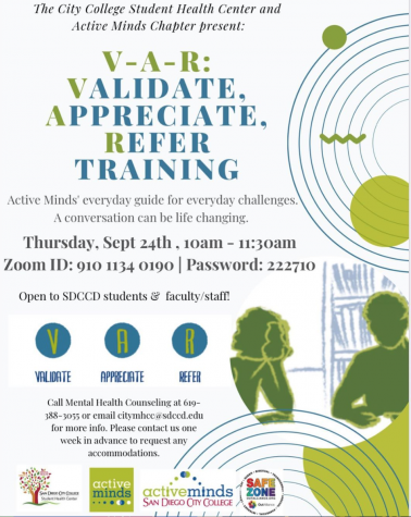 VAR training flyer
