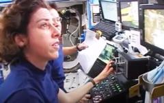 Ellen Ochoa in space