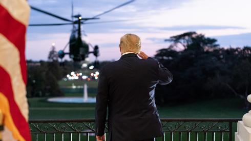 Trump Returns to White House