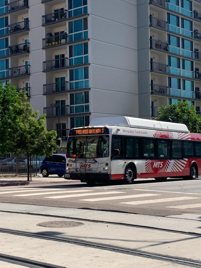 MTS is offering free bus rides on Election Day to help voters to visit a polling place. Photo by Brandon Manus/City Times