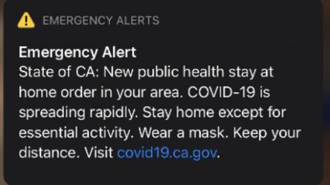CA Covid-19 Alert