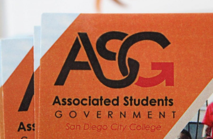 ASG Sign at San Diego City College