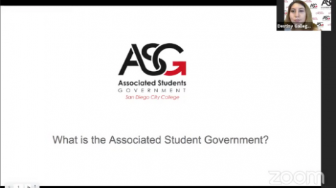 Associated Student Government meeting via Zoom