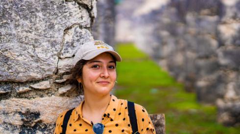 Lucia Huerta, Jack Kent Cooke Undergraduate Transfer Scholarship recipient