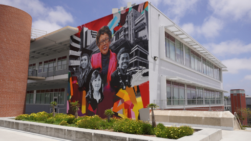 Chancellor mural