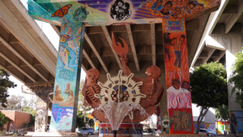 Fountain in Chicano Park
