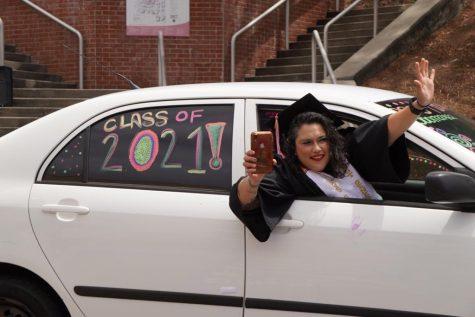 Drive-thru graduation