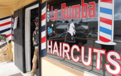 Erwin Mejia, owner of La Rumba Barbershop