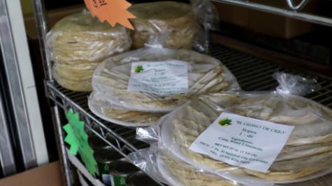 Tortillas frescas, aún calientes