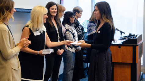 Award given at 2019 FOD Scholarship Luncheon