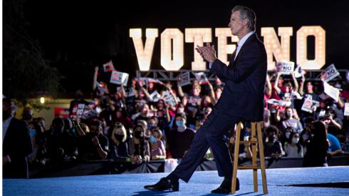 Newsom on campaign trail