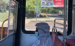 Passenger on 215 bus