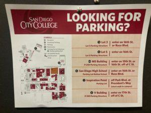 Fall parking flyer