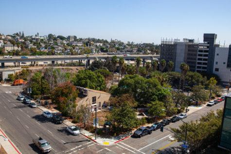 Aerial view of former San Diego City College Child Development Center
