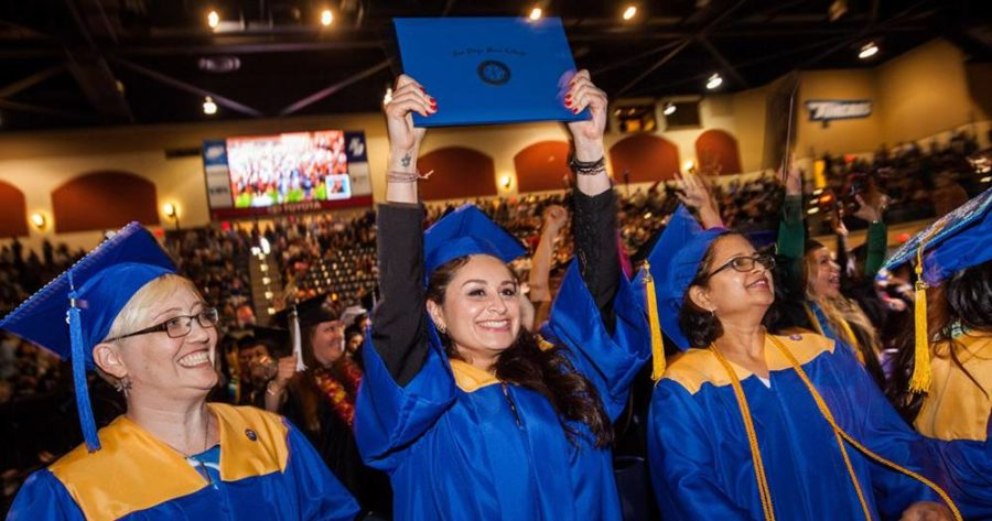 Mesa College bachelors graduates